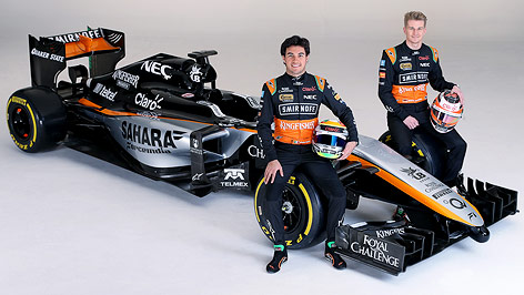 formel teams force india