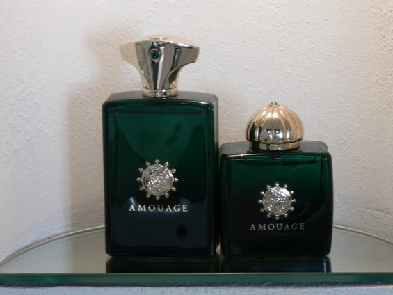 amouage green bottle